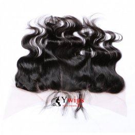 1 pc Brazilian Human Virgin Hair Body Wave Lace Frontal (13*4) LLB04