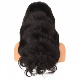 Glueless Preplucked Brazilian Body Wave 13x6 Lace Front Wigs AFB64