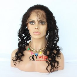3 Bundles 7A Grade Peruvian Loose Wave Human Virgin Hair with 1 Piece 360 Lace Frontal POP06