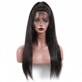 Glueless Preplucked Brazilian Straight 13x6 Lace Front Wigs AFB60