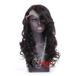 Glueless Preplucked Brazilian Hair Deep Wave Full Lace Human Hair Wig AAB105