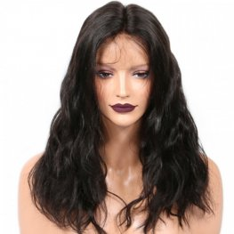 Glueless Preplucked Body Wave 360 Lace Frontal Wigs Brazilian Human Hair AOB40