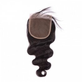 1 pc Brazilian Human Virgin Hair Body Wave Lace Closure (4*4) LSB04