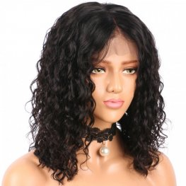 Loose Wave Brazilian Human Hair Full Lace Bog Wig BOB26
