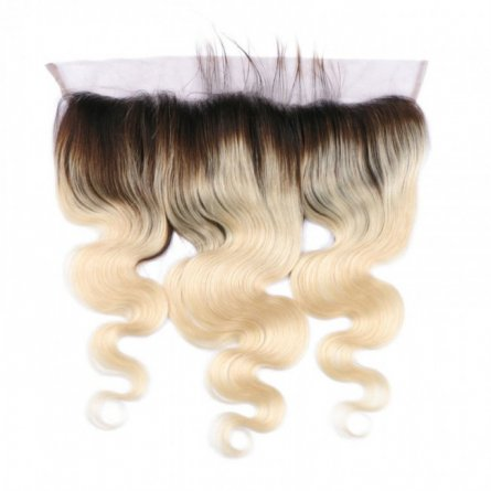 1 pc Omber #1b/613 Brazilian Human Hair Body Wave Lace Frontal (13*4) LLB04-#1b/613