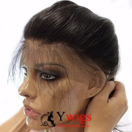 8A Grade 3 Bundles Brazilian Straight Human Virgin Hair with 1 Piece 360 Lace Frontal POB101