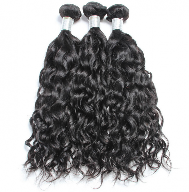 1 Bundle 7A Grade Peruvian Human Virgin Hair Water Wave Weave WP081